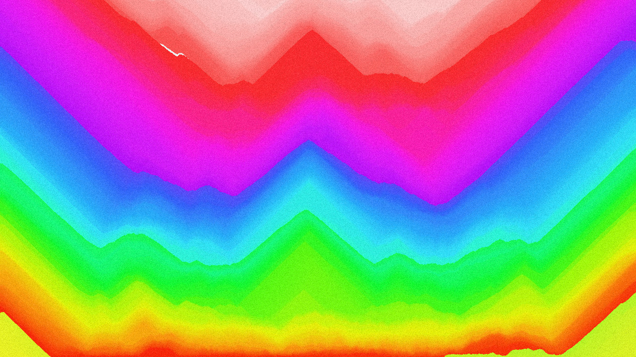 ThisIsSand Rainbow Mountain